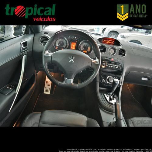 peugeot rcz 1.6 16v turbo gasolina 2p automático