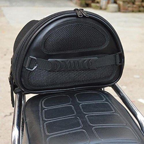 pevor motocicleta bicicleta deportes asiento trasero bols