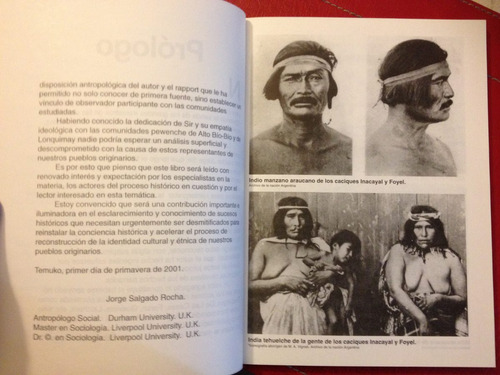 pewenche una mirada etnográfica jorge sir  mapuches quinquen