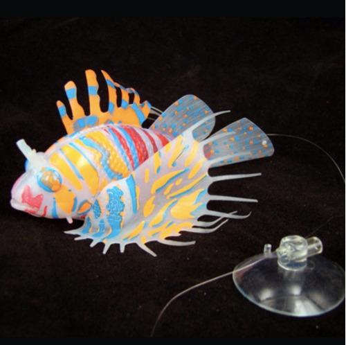 pez artificial para acuarios, pez leon, fishlion