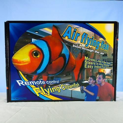 pez payaso inflable a control remoto