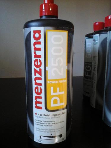 pf 2500 power finish menzerna 1 lt