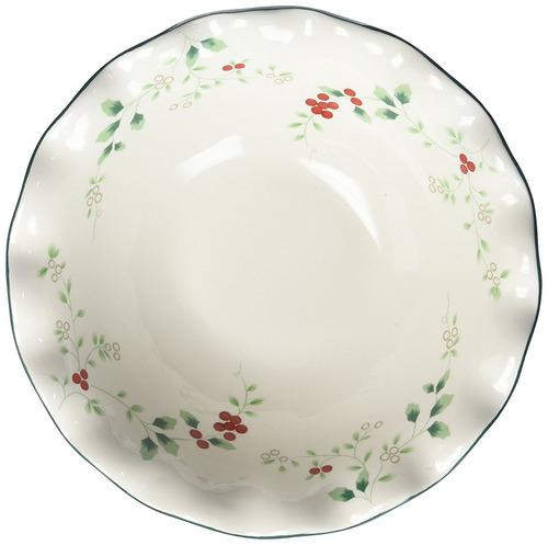 pfaltzgraff winterberry 81/2-inch individual pasta bowl
