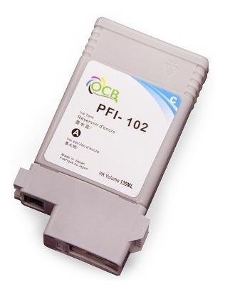 pfi-102 130ml tinta de pigmento compatible ipf-500 ipf-510