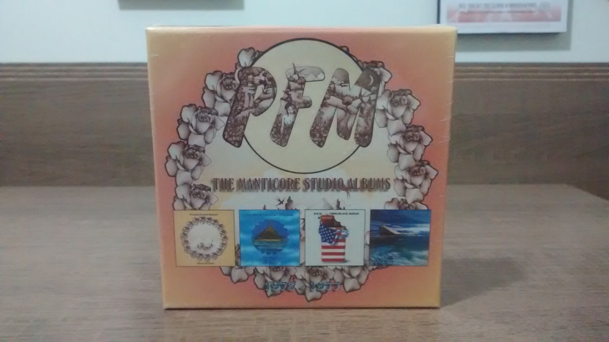 The Manticore Studio Albums 1973-1977 CD Box Set 4 discs