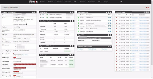 pfsense firewall servidor 4 gigabit - netgate - 200 usuários