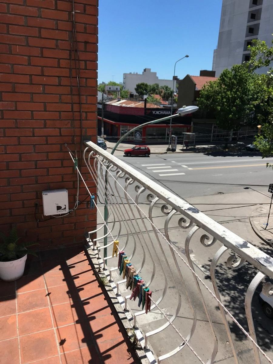 ph 2 ambientes al frente con balcon + baulera- venta