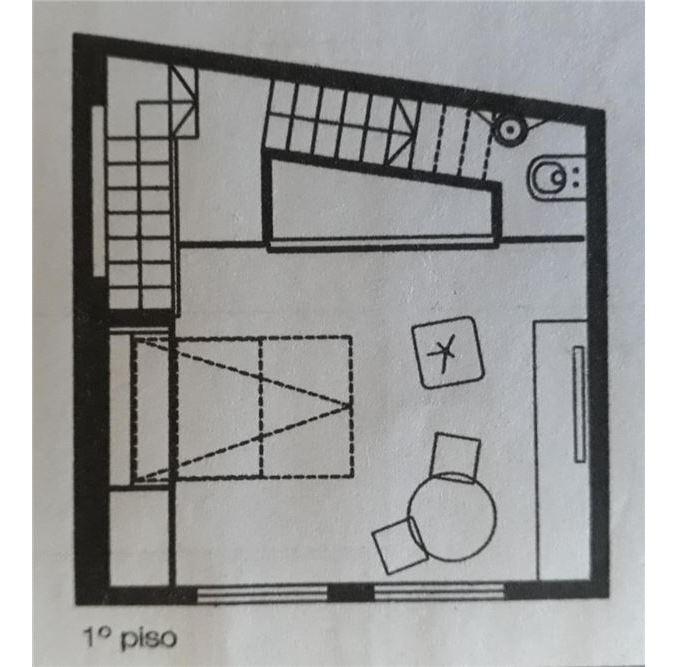 ph 2 ambientes con terraza propia
