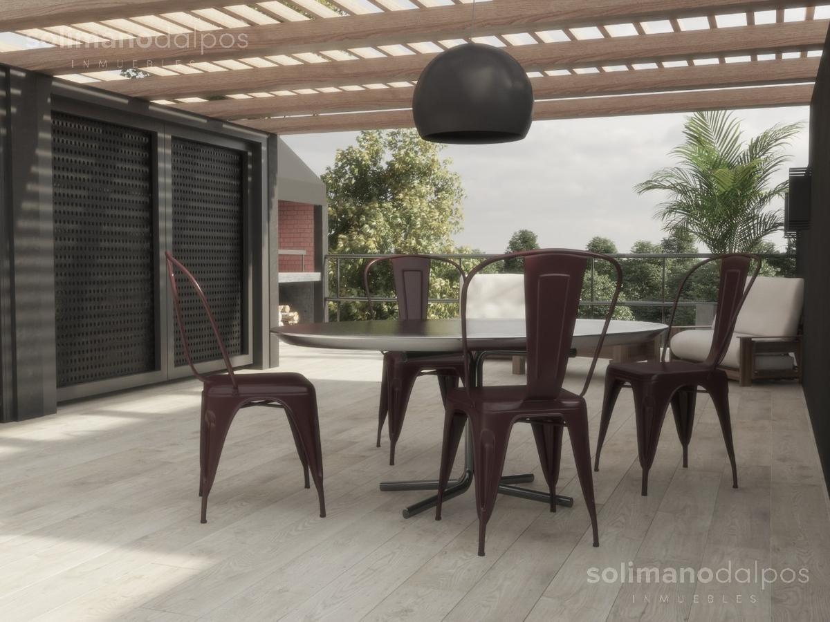 ph 3 amb con terraza propia - olivos