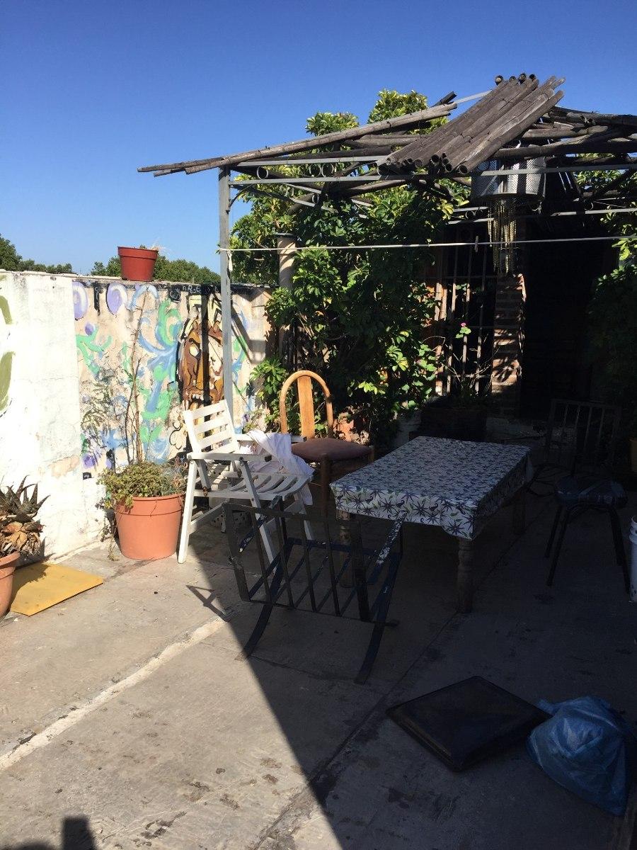 ph 3 ambientes con terraza y quincho - villa crespo