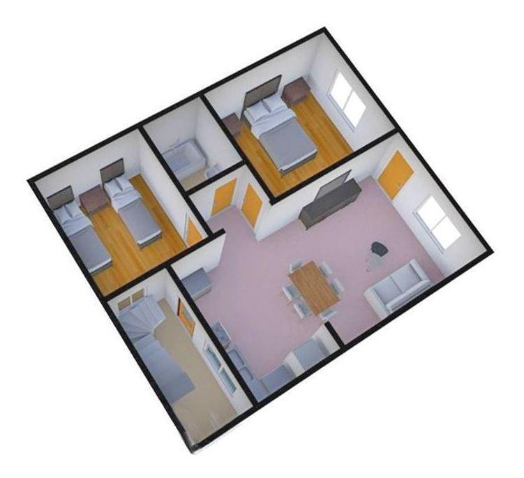 ph 3 ambientes lanus oeste - con patio y terraza