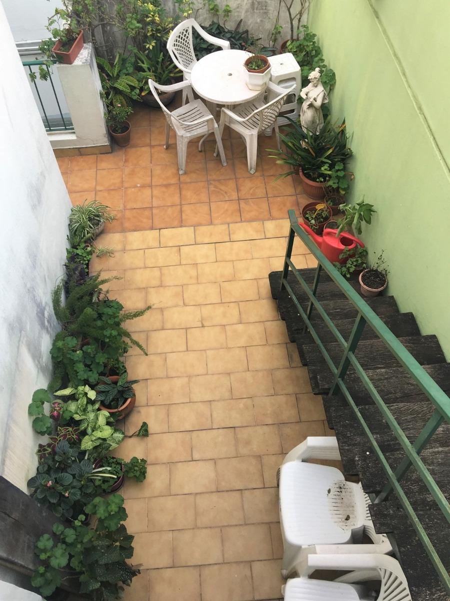 ph con patio y terraza propios,sin expensas. v. pueyrredon