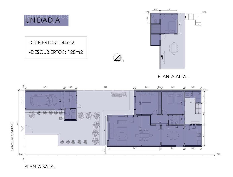 ph de 4 amb con jardin y terraza, cochera cub - olivos