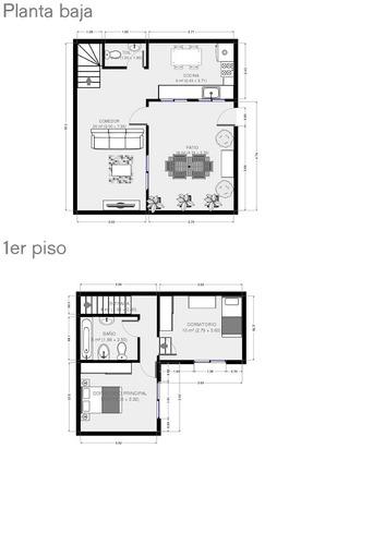 ph en duplex de 3 ambientes