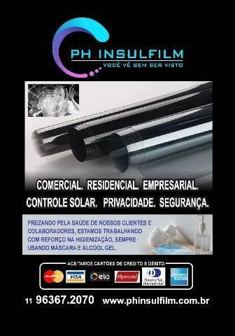 ph insulfilm(películas de redução de calor e luminosidade)
