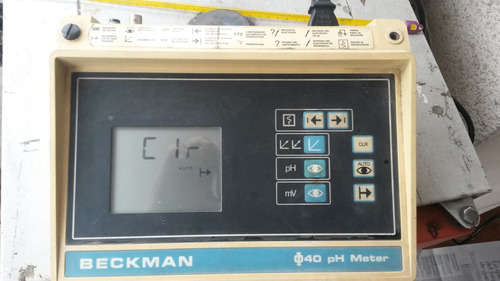 ph metro marca beckman usa