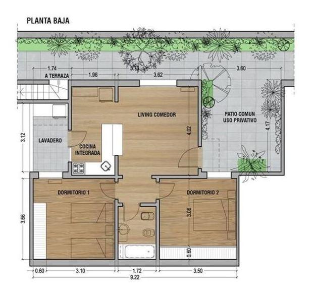 ph planta baja 3ambs terraza sin expensas v.devoto