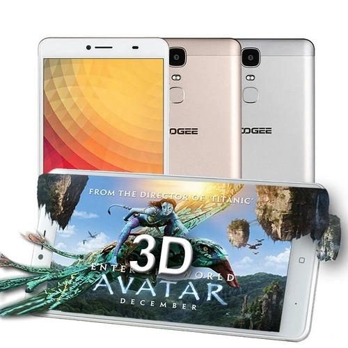 phablet doogee y6 max homologado + case en silicona + film