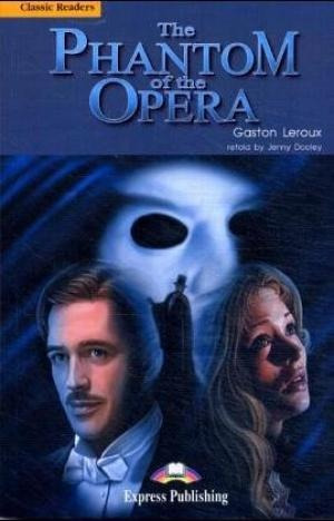 phantom of the opera the classic reader level 5 de leroux ga