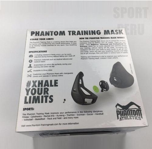 phantom training mask mascara de entrenamiento 3.0 sellada