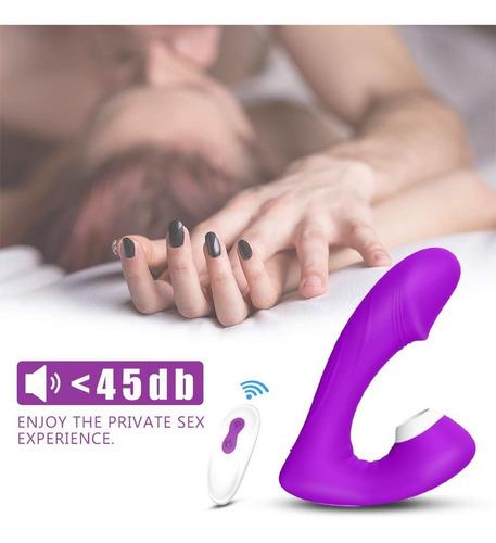 phanxy vibrador consolador succion clitoris punto g 2 en 1