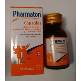 Pharmaton 30 Càpsulas Redimiento, Juventud, Memoria