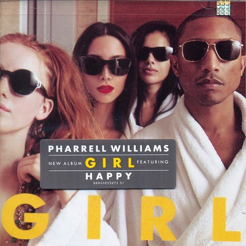 pharrell williams  girl cd con 10 canciones