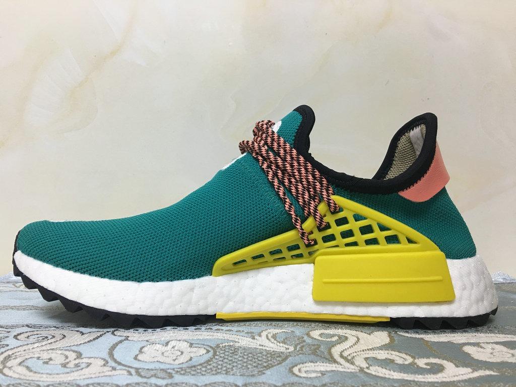 aafc39a3fc Pharrell X adidas Nmd Human Race Verde - R  632