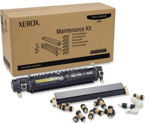 phaser 5550 xerox kit mantenimiento facturado no. 109r00731