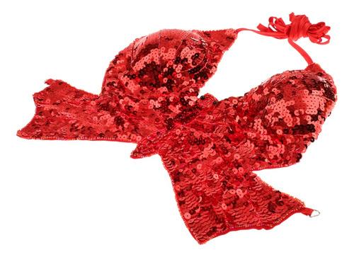phenovo danza del vientre wear mariposa top bra traje de