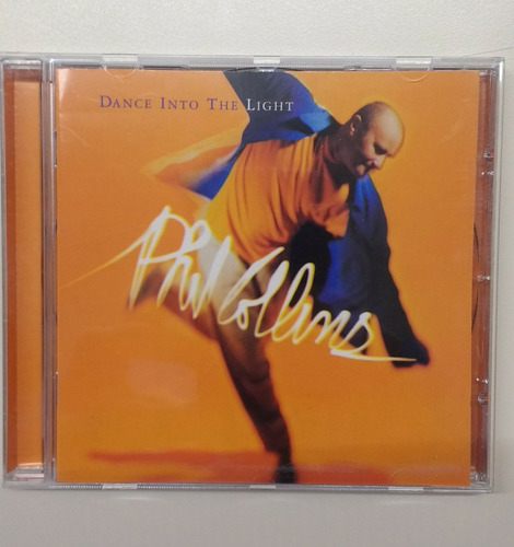 phil collins - dance into the light cd europeo