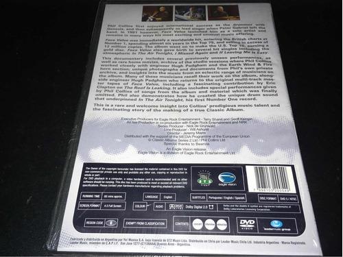 phil collins face value dvd nuevo original cerrado