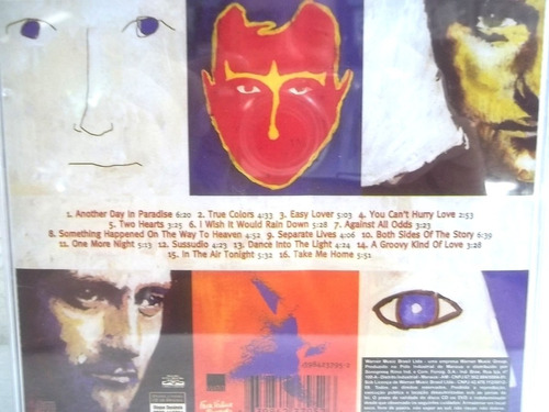 phil collins hits cd original frete 12,00