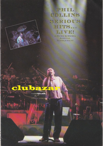 phil collins revista music & media 1990 seriously live uk