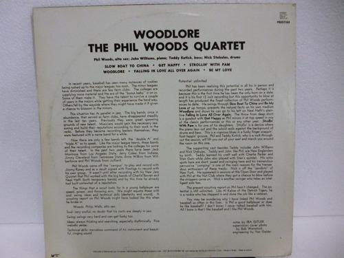 phil woods quartet woodlore lp . nac.1983