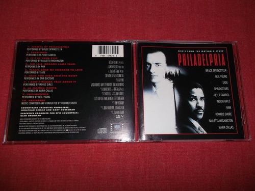 philadelphia - soundtrack cd imp ed 1993 mdisk