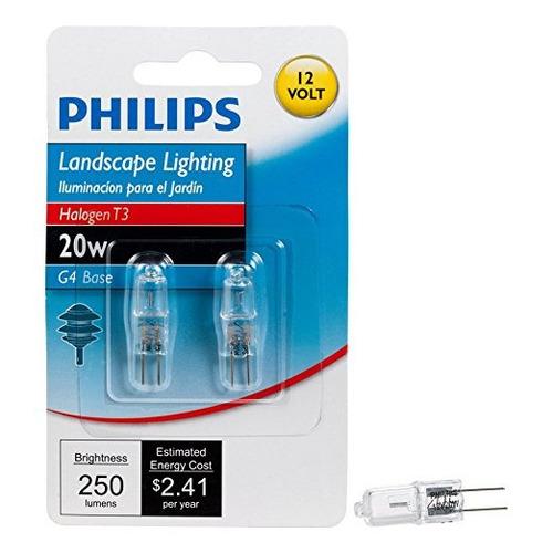 philips 417204 paisaje de iluminación 20 vatios t3 12 voltio