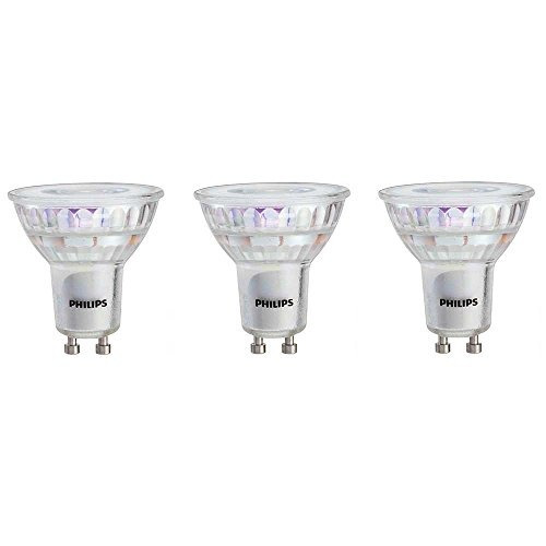 philips 465054 50 w equivalente luz led gu10 de color blanc