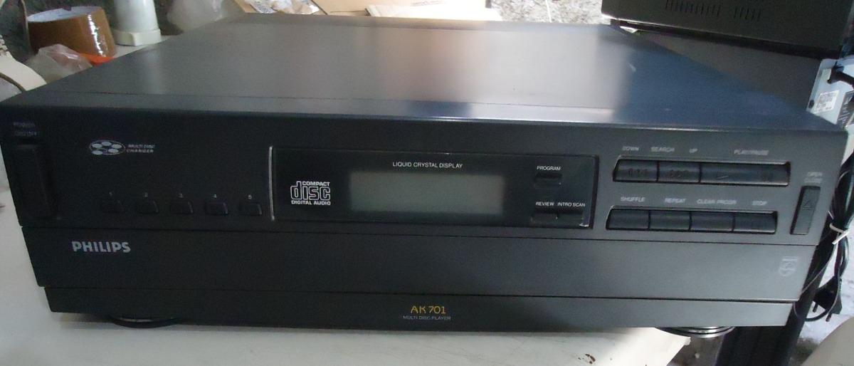 Philips Ak701 Multi Disc Player Tv, Video & Audio