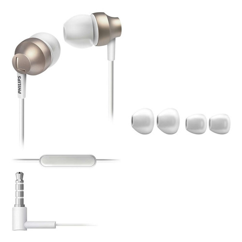 philips audífono manos libres in ear she3855 - phone store
