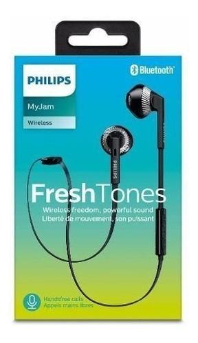 philips audífonos bluetooth in ear shb5250bk negro