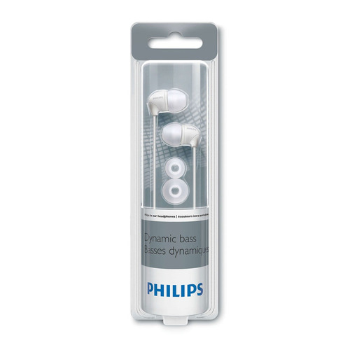 philips audífonos intrauditivos she3590wt/10 - barulu
