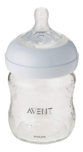 philips avent - botella de cristal natural / 1 unidad