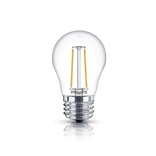 philips foco led filament a15 2w/20w e26
