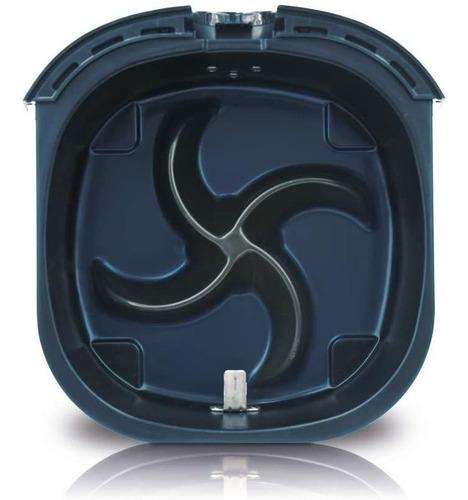 philips hd9220/29 airfryer, 1.8lb/2.75qt, negro freidora