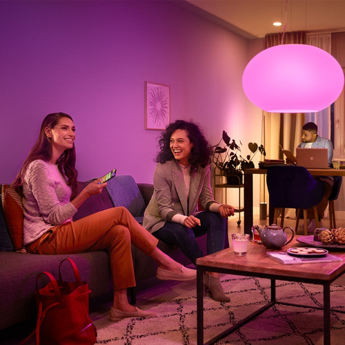 philips hue kit de inicio white and colors 9,5w a60  ahora18