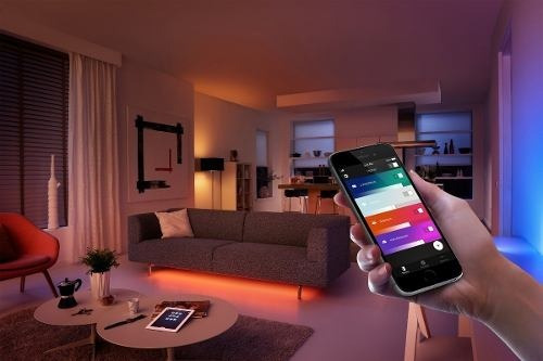philips hue kit de inicio white and colors con sensor hue