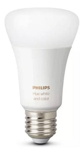 philips hue lampara bulbo foco led generacion 5 rgb e27 10w
