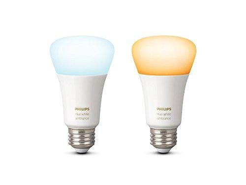 philips hue lámpara led individual 10w, ambiance, a19 e26