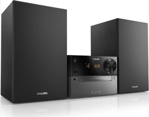 philips micro sistema bluetooth, usb, cd, 15w btm2310
